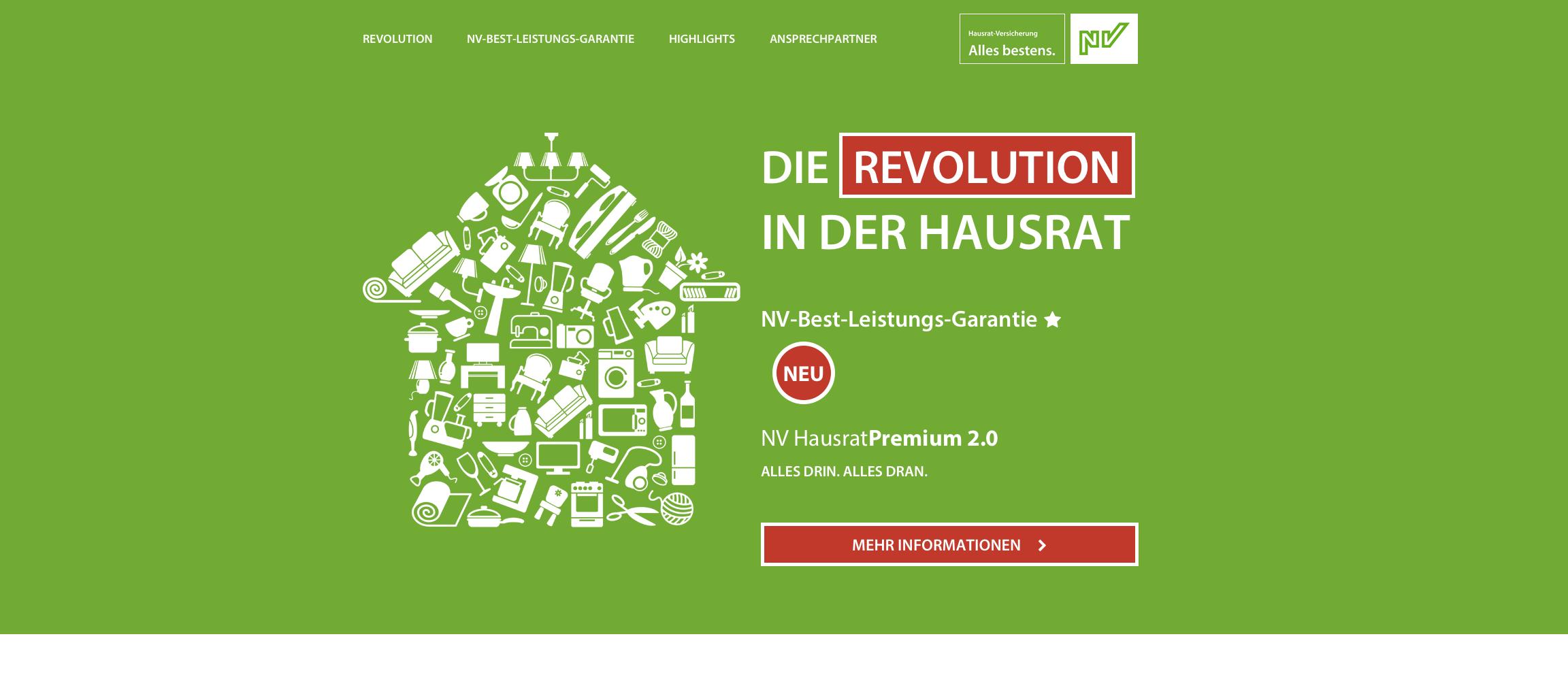 Die NV-Hausrat-Revolution hat begonnen.