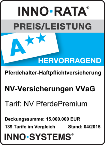 """NV PferdPremium - ausgezeichnet mit """"hervorragend"""""""
