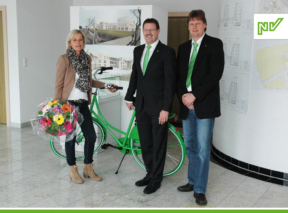 Gewerbeschau Wittmund: die Gewinnerin