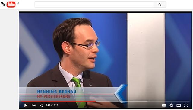 Henning Bernau zu Gast bei Pecunia-TV.