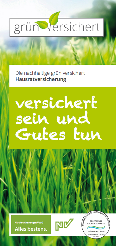 grün versichert