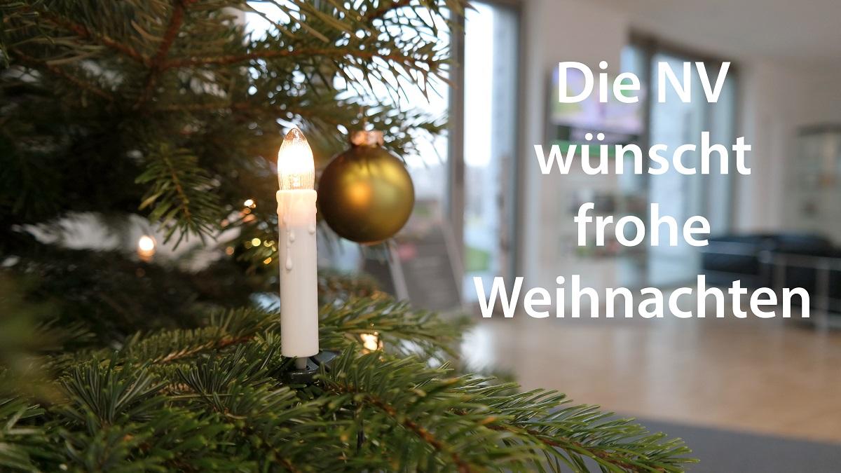NV wünscht frohe Weihnachten