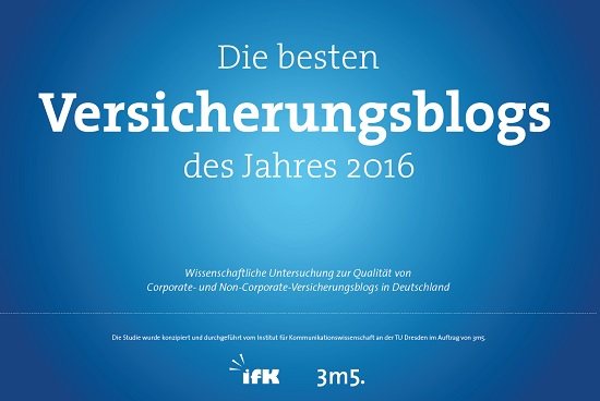 NV Blog - Platz 5 Corporate Versicherungsblog